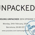 Galaxy S5 launch set for Unpacked event at MWC 2014