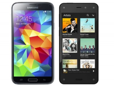 Galaxy S5 vs Amazon Fire, advantages highlighted