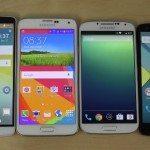 Galaxy S5 vs Nexus 5 and others