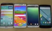 Galaxy S5 vs Nexus 5 and others in Android Lollipop boot-up speed test