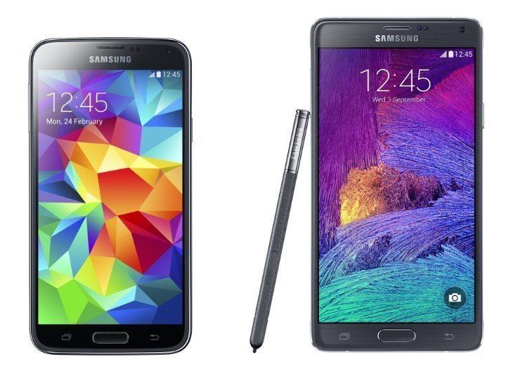 Galaxy S5 vs Note 4 vs Nexus 6