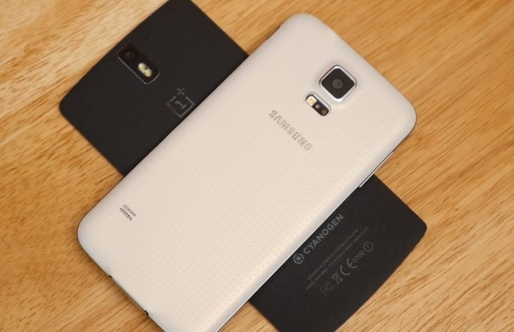 Galaxy S5 vs OnePlus One b