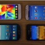 Galaxy S5 vs S4 vs S3 vs S2 gaming performance comparison