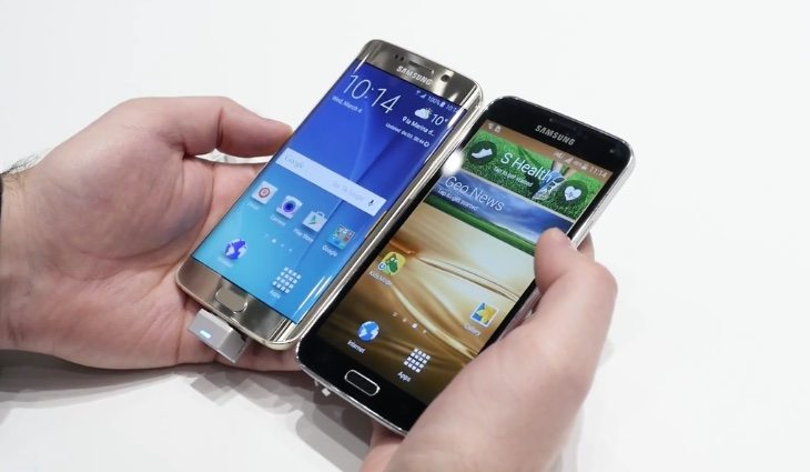 Galaxy S6 Edge vs S5 vs iPhone 6