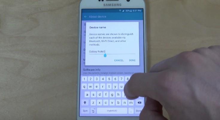 Galaxy S6 on Galaxy Note 5 ROM port