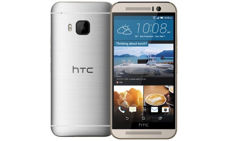 Galaxy S6 vs HTC One M9 b