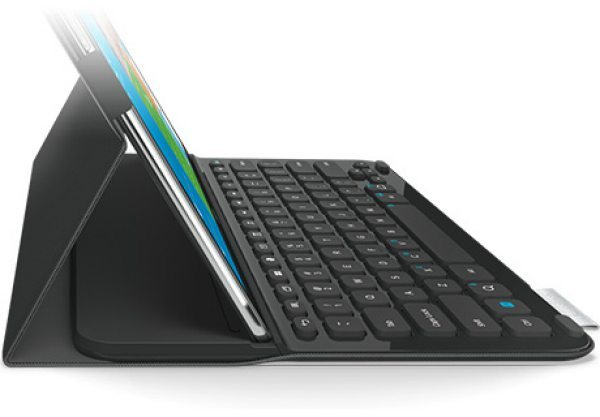galaxy tab pro note pro 12 2 new logitech keyboard case. Black Bedroom Furniture Sets. Home Design Ideas