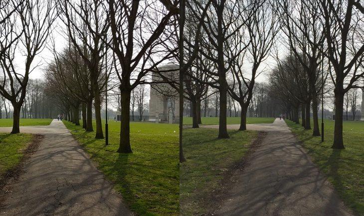 Galaxy s6 vs iphone 6 camera