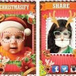 Get a Santa selfie with iPhone app