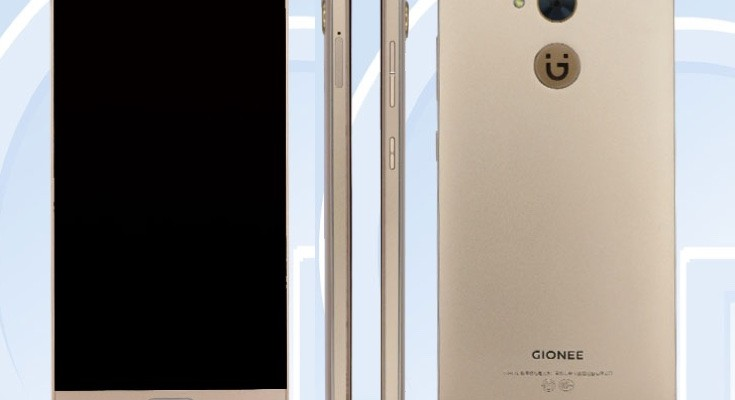 Prospective Gionee S8 Lite (GN9012) in specs reveal at TENAA
