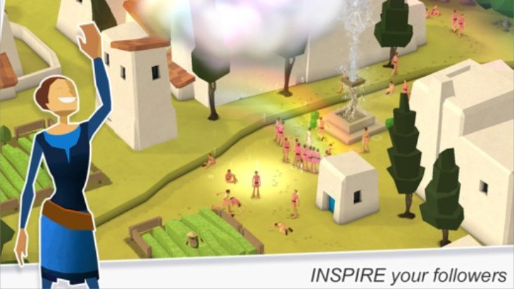 Godus app for iOS b