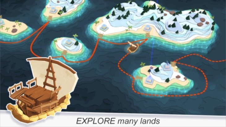 Godus app for iOS