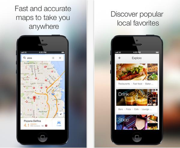 Google Maps Navigation app for iOS catches up with Android