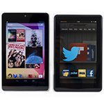 Nexus 7, Kindle Fire tablet comparison video