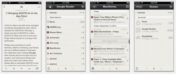 Google Reader alternative after Reeder iPhone app update