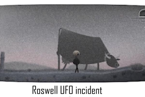 Google UFO Doodle and Roswell game apps