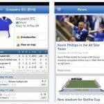 Gothia Cup 2013 app with tournament schedule
