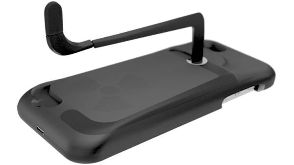 Gridcase Reactor for iPhone 5, wind the battery up