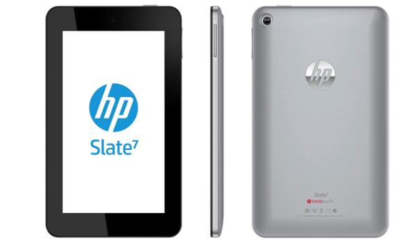 HP Slate 7 in US release, available now