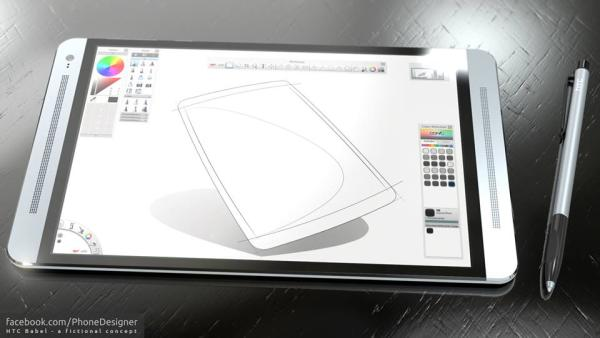 HTC BABEL tablet design stuns