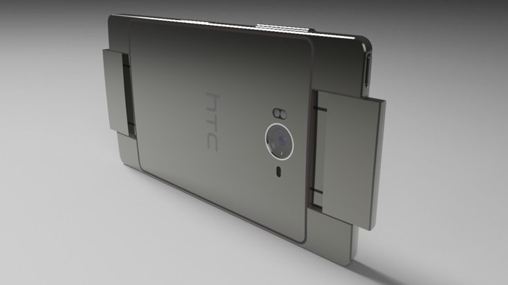 HTC BoomSound Edition phone design e
