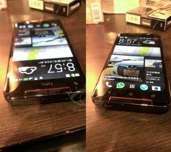 HTC Butterfly S pre-launch photos & BoomSound speakers pic 2