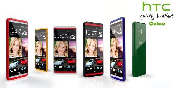 HTC Five plastic phone like iPhone 5C pic 2