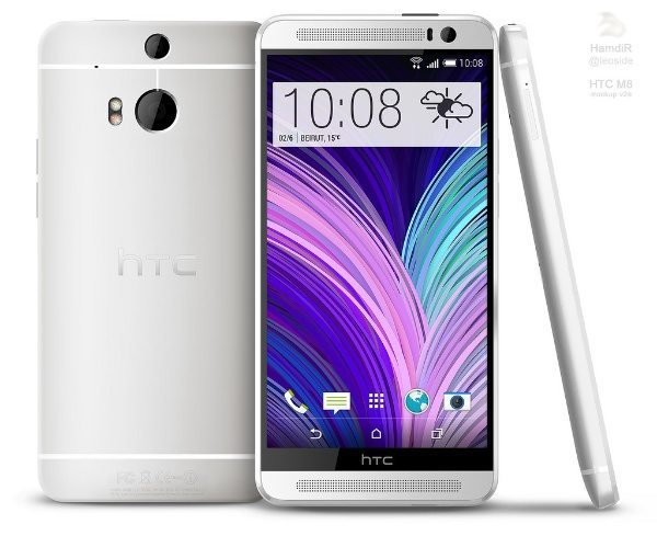 HTC M8 design impressively styled with realism