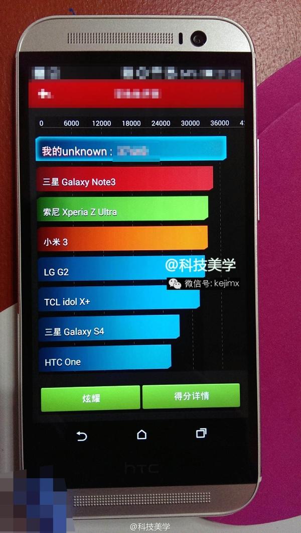 HTC M8 leaking again b