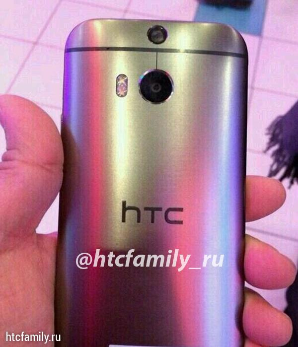 HTC One 2014 shows its curved shiny back in spec video