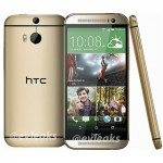 HTC One 2014 press render emerges in gold