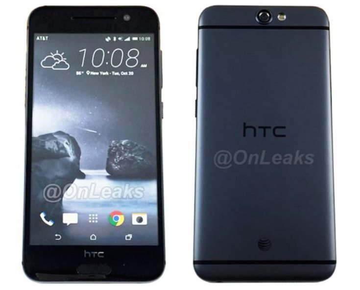 HTC One A9 images of dummy unit