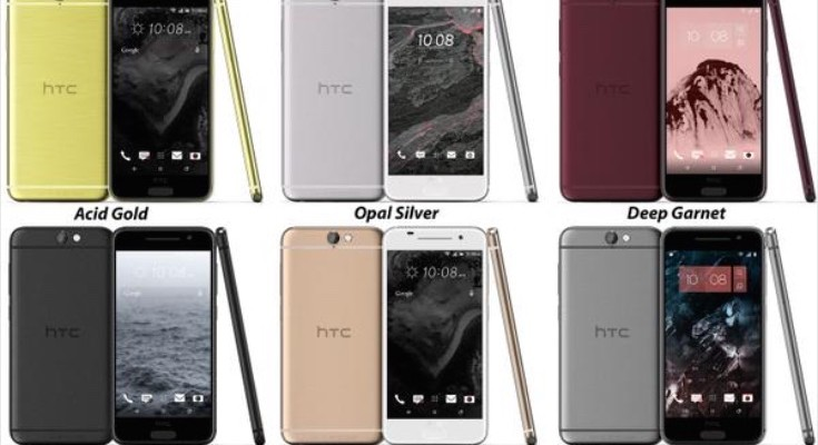 HTC One A9 models at certification