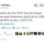HTC One Developer Edition pre-orders kick off today