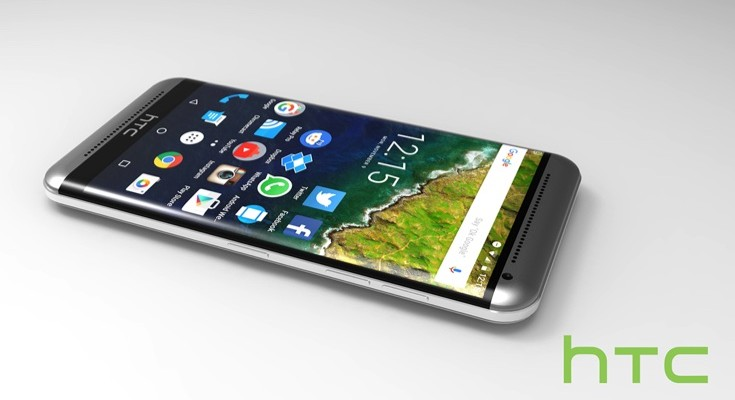 HTC One M10 design idea with 3D look