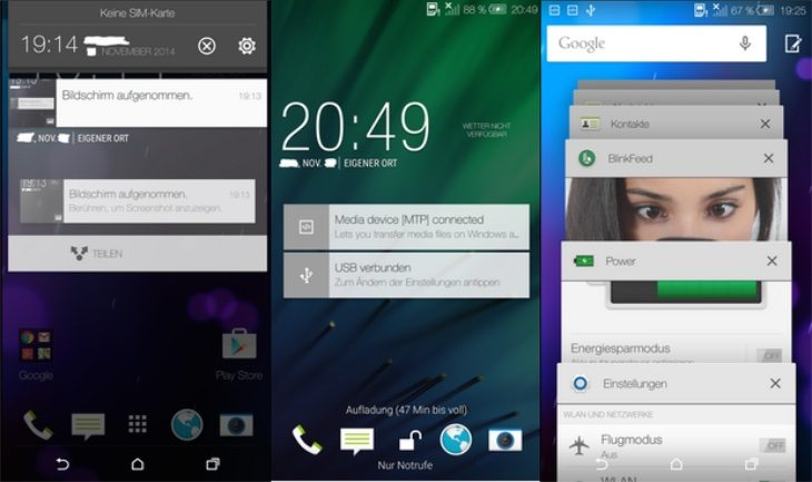HTC One M8 Android Lollipop update