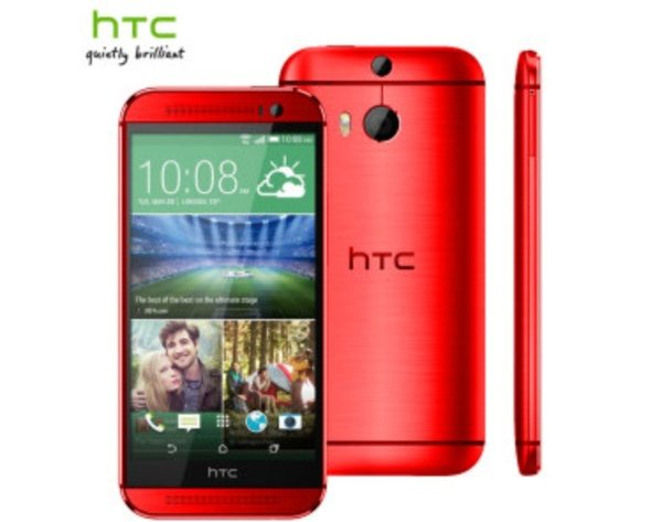 HTC One M8 in red now official, UK pre-orders open
