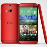 HTC One M8 red for UK network