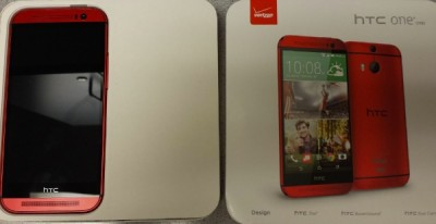 HTC One M8 red version for Verizon almost here