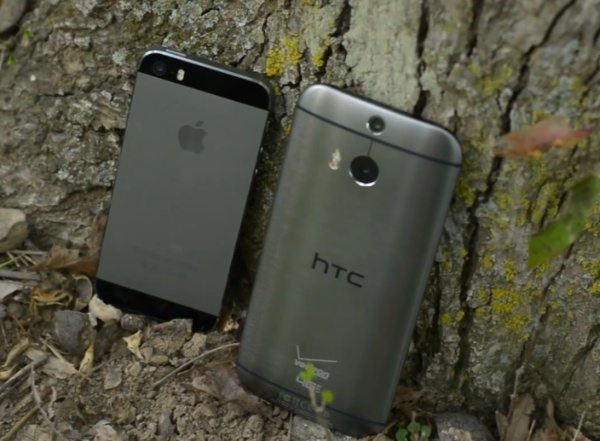 HTC One M8 vs iPhone 5S, no clear winner