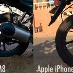 HTC One M8 vs iPhone 5S slow motion video capture compared