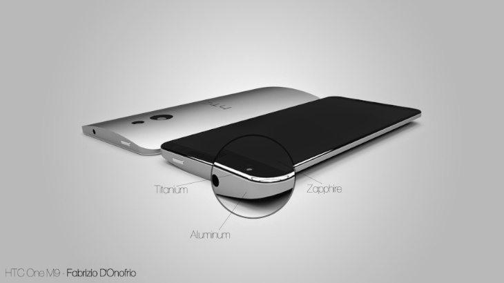 HTC One M9 design d