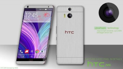 HTC One M9 specs visualized with Duo Camera