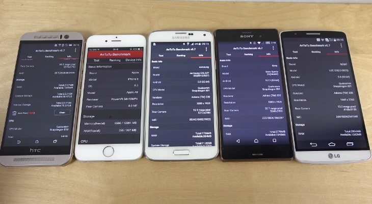 HTC One M9 vs iPhone 6 and more