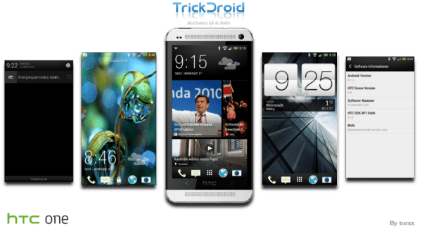 HTC One TrickDroid Custom ROM full of surprises