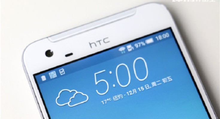 HTC One X9 presented for the camera again