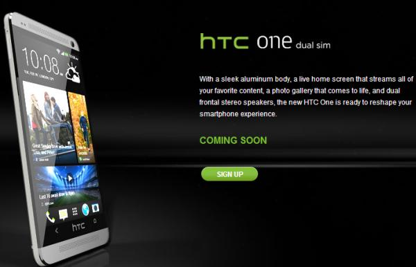 HTC One with Dual-SIM Comes to Denmark