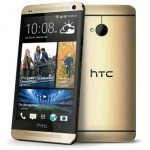 HTC One gold colour SIM free available in UK