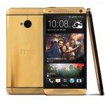 HTC One in real 24 carat gold to be won in prize draw