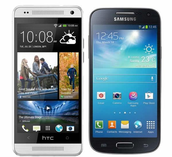 HTC One mini vs Galaxy S4 mini price in India